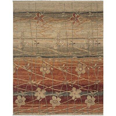 Azumaya Design Rust Area Rug Rug Size: 9 x 12
