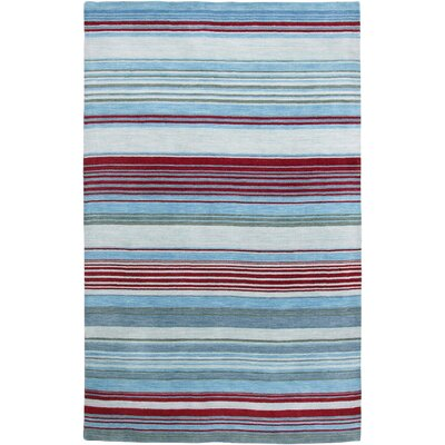 Archipelago Isabela Design Ice Blue Area Rug Rug Size: 5 x 8