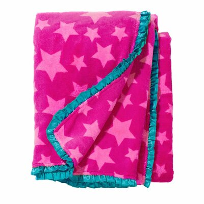 Sleepover Stars Fleece Throw