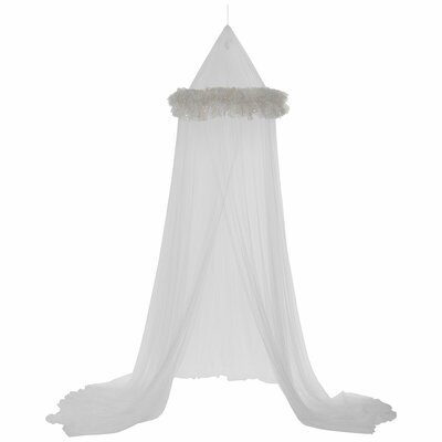 Dream Lights Bed Canopy Color: White