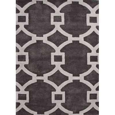 Arlene Hand-Tufted Gray/Ivory Area Rug