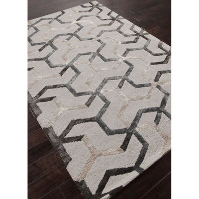 Huseby Hand-Tufted Beige/Gray Area Rug