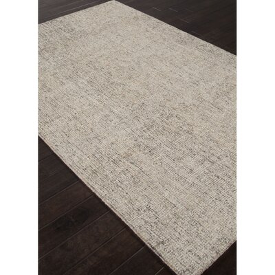 Britta Hand Tufted Wool Ivory/Gray Area Rug