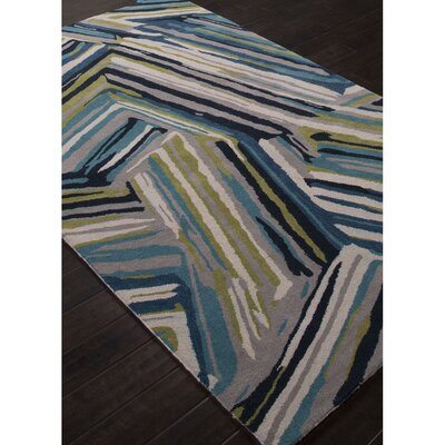 Hurtado Hand-Tufted Blue Area Rug