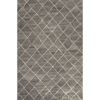 Reyansh Hand-Tufted Gray/Ivory Area Rug