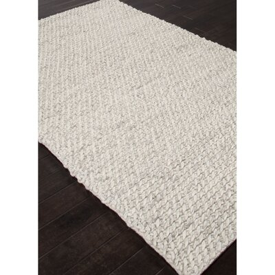Checotah Hand Woven Wool Ivory/Gray Area Rug