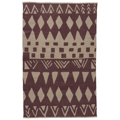 Jaimey Huckleberry/Abbey Stone Area Rug Rug Size: Rectangle 5 x 8