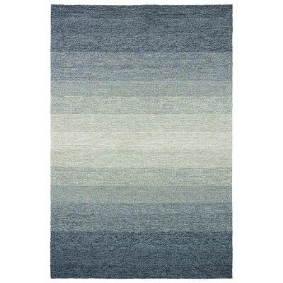 Cherrelle Ombre Blue/Overcast Indoor/Outdoor Area Rug Rug Size: 76 x 96