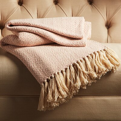 Reims Cotton Throw Color: Cloud Cream