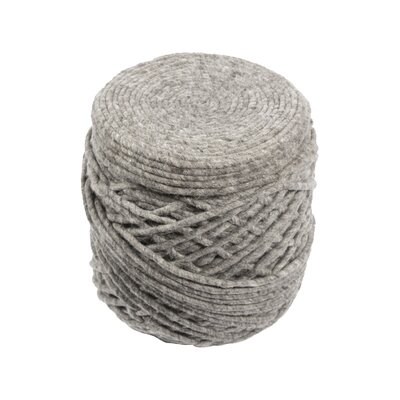 Caledon Pouf Rug Size: 16x18x18