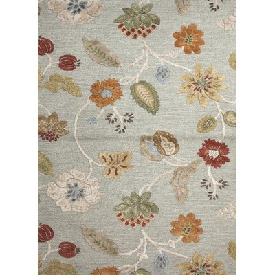 Cynthiana Red Floral Area Rug Rug Size: Rectangle 8 x 10