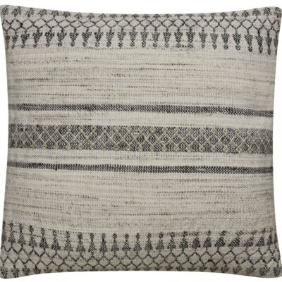Pablo Tribal Pattern Bamboo Throw Pillow
