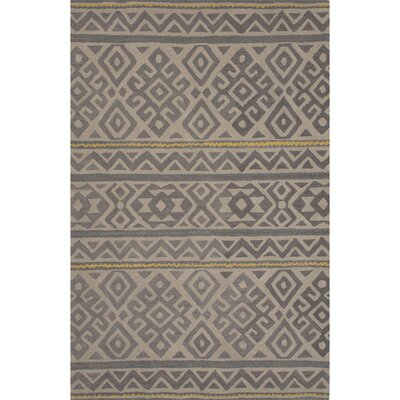 Ferro Hand Tufted Wool Overcast Area Rug Rug Size: 8 x 11