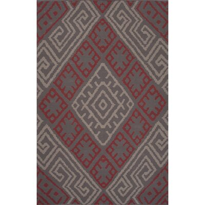 Traditions Made Modern Cotton Flat Weave Pink Ivory Area Rug Rug Size 2 x 3