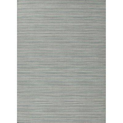 Lavoie Handmade Wool Cool Aqua Area Rug Rug Size: 8 x 10