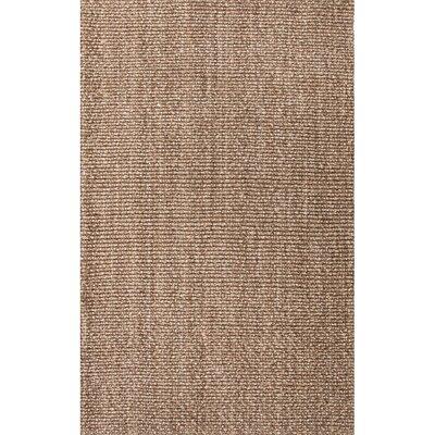 Raposa Brown/Chocolate Area Rug Rug Size: 2 x 3