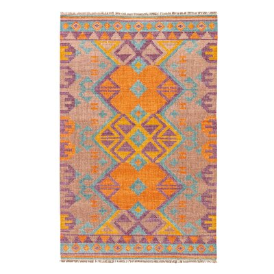 Rubina Brown Area Rug Rug Size: Rectangle 8 x 10