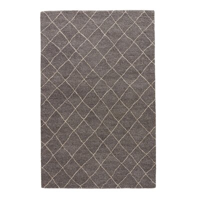 Reyansh Gray/Ivory Rug Rug Size: Rectangle 5 x 8