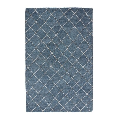 Reyansh Blue & Ivory Area Rug Rug Size: Rectangle 8 x 10