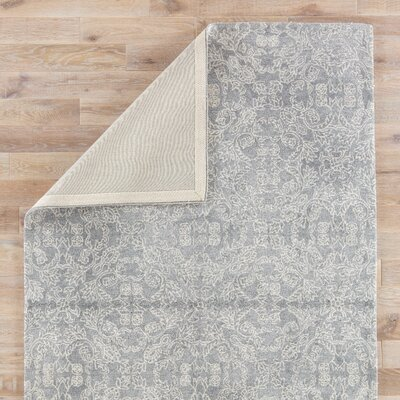 Dylan Hand-Tufted Wild Dove/Turtledove Area Rug Rug Size: 5 x 8
