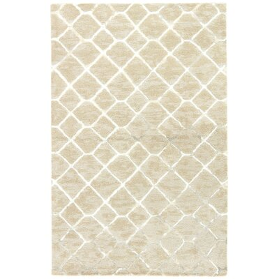 Heldt Hand-Tufted Taupe/Gray Area Rug Rug Size: Rectangle 9 x 12