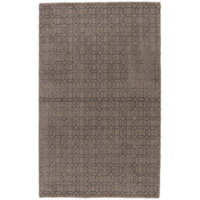 Birch Hill Hand-Tufted Brown/Gray Area Rug Rug Size: 96 x 136