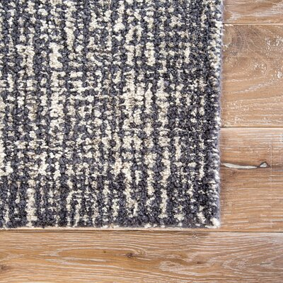 Bernards Hand-Tufted Gray/Taupe Area Rug Rug Size: 2 x 3