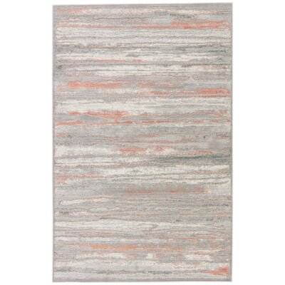 Safire Birch/Chateau Gray Area Rug Rug Size: Rectangle 5 x 8