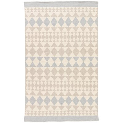 Helgeson Tan/Blue Indoor/Outdoor Area Rug Rug Size: Rectangle 2 x 3