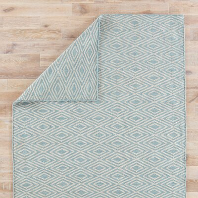 Heise Blue/Beige Indoor/Outdoor Area Rug Rug Size: 8 x 10