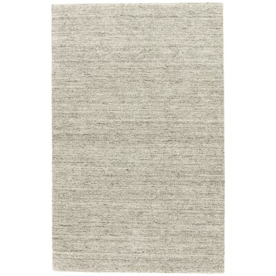 Helen Hand-Woven Gray/Taupe Area Rug Rug Size: Rectangle 8 x 10