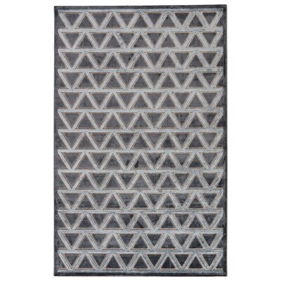 Heller Pewter/Gray Area Rug Rug Size: 76 x 96