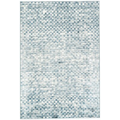 Sienna Blue/Gray Area Rug Rug Size: Rectangle 53 x 76