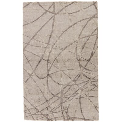 Heiner Hand-Tufted Gray/Silver Area Rug Rug Size: Rectangle 5 x 8