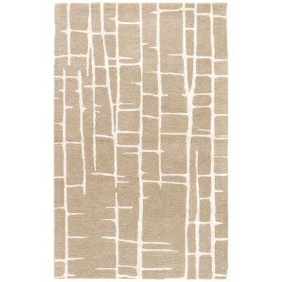 Heinrich Hand-Tufted Brown/Silver Area Rug Rug Size: Rectangle 2 x 3