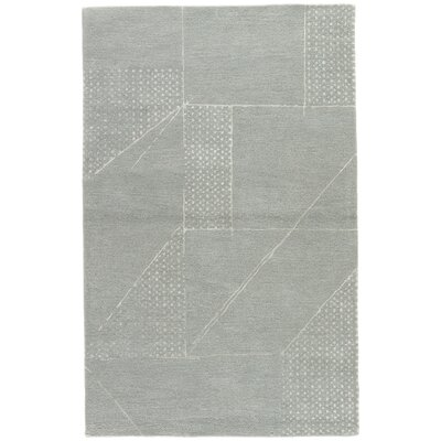 Heins Hand-Tufted Blue/Gray Area Rug Rug Size: Rectangle 2 x 3