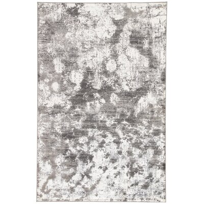 Shaelyn Off-White/Gray Area Rug Rug Size: Rectangle 2 x 3