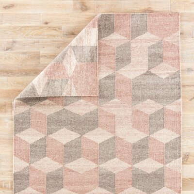 Samara Blush Indoor/Outdoor Area Rug Rug Size: Rectangle 2 x 3