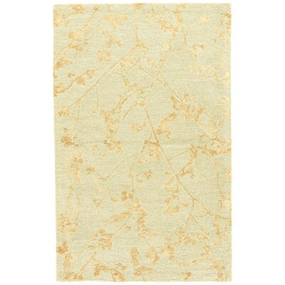 Talitha Hand-Tufted Gray/Tan Area Rug Rug Size: 5 x 8