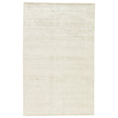 Sara Hand-Woven Taupe Area Rug Rug Size: Rectangle 8 x 10