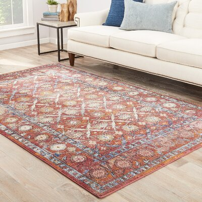 Birchview Earth Red/Incense Area Rug Rug Size: Rectangle 5 x 8