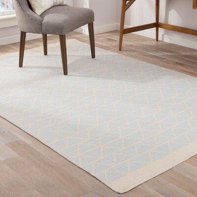 Helios Gray/Tan Indoor/Outdoor Area Rug Rug Size: 5 x 8