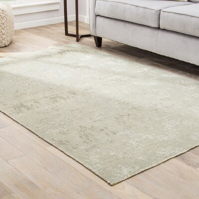 Colt Hand-Knotted Beige/Cream Area Rug Rug Size: Rectangle 9 x 13