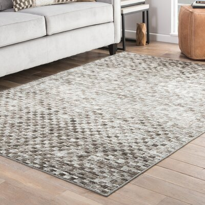 Sienna Brown/Gray Area Rug Rug Size: 710 x 1010