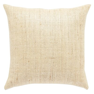 Greenwood Silk Throw Pillow Fill Material: Down/Feather