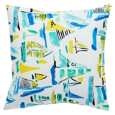 Greenport Geometric Indoor/Outdoor Throw Pillow