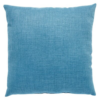 Newfield Solid Indoor/Outdoor Throw Pillow Color: Light Blue