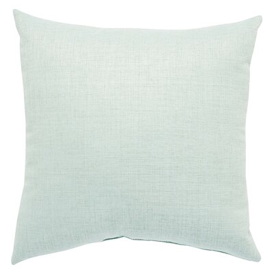 Newfield Solid Indoor/Outdoor Throw Pillow Color: Green