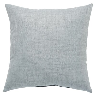 Newfield Solid Indoor/Outdoor Throw Pillow Color: Gray
