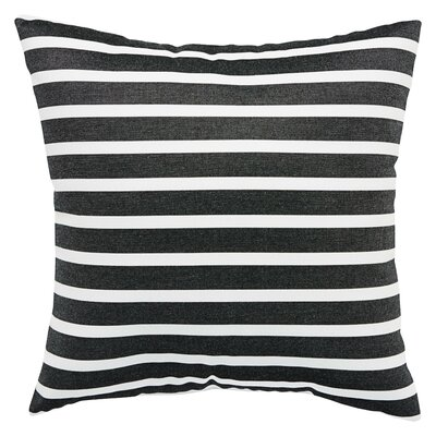 Meaghan Stripe Indoor/Outdoor Throw Pillow Size: 18 H x 18 W x 6 D